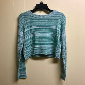 green women's sweater